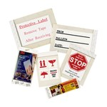 3M Scotchpad 809S Square Plastic Mailing Label - 5 3/4 in Width - 5 3/4 in Height - 88185