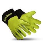 HexArmor Chrome Series Black/Lime 9 Goatskin Welding & Heat-Resistant Gloves - 4085-L (9)