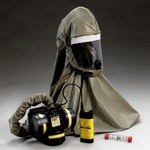 3M Breathe Easy FR-57N10 HEPA PAPR & SAR Assembly - Assembly with Headpiece - Belt-Mounted - 8 hr NiMH - 051131-52571