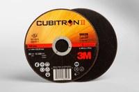 3M Cubitron II COW Ceramic Aluminum Oxide Cutoff Wheel - Type 1 (Straight) - 60 Grit Medium Grade - 5 in Diameter - 7/8 in Center Hole - 0.045 in Thickness - 66526