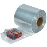 Clear Shrink Tubing - 1500 ft x 4 in - 100 Gauge Thick - SHP-6939