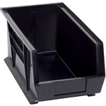 Black Conductive Bin - 14 3/4 in x 8 1/4 in x 7 in - SHP-3035