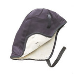 Jackson Safety 375 Blue Cotton Cold Weather Head Liner - Head Liner - Hook & Loop Fitting - 036000-16763