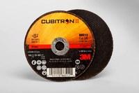 3M Cubitron II COW Ceramic Aluminum Oxide Cutoff Wheel - Type 1 (Straight) - 60 Grit Medium Grade - 3 in Diameter - 1/4 in Center Hole - 0.035 in Thickness - 66513