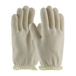 PIP 43-500 White Small Cotton Hot Mill Glove - 10 in Length - 43-500S