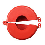 Brady Prinzing Safetee Red Gate Valve Lockout 46295 - 5 to 6 1/2 in Compatible Diameter - 754473-46295