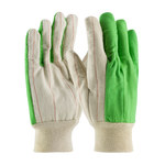 PIP 92-918PCGB High-Visibility Green Polycord General Purpose Gloves - Straight Thumb
