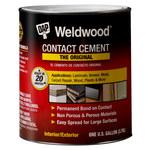 Dap Contact Adhesive Brown Liquid 1 qt Pail - 00272