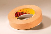 3M 9499 Clear Transfer Tape - 1 in Width x 60 yd Length - 2 mil Thick - Densified Kraft Paper Liner - 67151