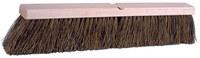 Weiler 448 Push Broom Kit - Hardwood 60 in Handle - Palmyra 4 in Bristle - 18 in Hardwood Block - 44687