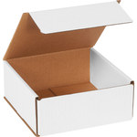 Oyster White Corrugated Mailer - 7 in x 7 in x 3 in - SHP-2543