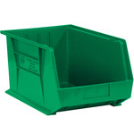 Green Hang Bin Boxes - 5.375 in x 4.125 in x 3 in - SHP-2915