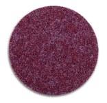 3M Scotch-Brite GB-DN Non-Woven Ceramic Maroon Quick Change Disc - Coarse - 4 1/2 in Diameter - 60348