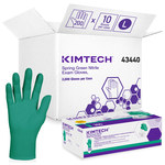 Kimtech Spring Green Large Powder Free Disposable Gloves - 4.7 mil Thick - 43440