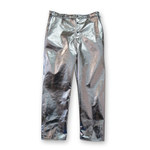 Chicago Protective Apparel Large Aluminized Carbon Kevlar Fire Resistant Pants - 606-ACK LG