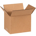 Shipping Supply Kraft Corrugated Boxes - 7 in x 6 in x 6 in - SHP-1171