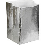 Shipping Supply Silver Insulated Box Liners - 20 in x 20 in x 20 in - 3/16 in Thick - SHP-12232