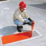 Sellars Orange Polyurethane Drain Seal - 18 in Width - SELLARS 92124