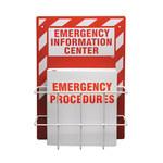 Brady Emergency Information Center - 14 in Width x 20 in Height - IC326E