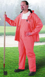 Dunlop Sitex 76601 Orange Large Polyester/PVC Rain Suit - 2 Pockets - Fits 54 in Chest - 30 in Inseam - 791079-14503