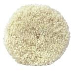 3M Superbuff White Wool Pad Threaded Arbor Attachment - 9 in Diameter - 05704