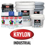 Krylon Industrial Coatings K0390 White Chemical-Resistant Coating - 4 gal Pail - 4:1 Mix Ratio - 02508