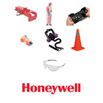 Honeywell M-Safe Red Steel Lockout/Tagout Hasp - 4 3/8 in Height - 1 in Jaw Diameter - 6 Padlock Capacity - HONEYWELL R60ML