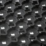 Notrax Cushion-Lok 520 Black Indoor Vinyl Diamond Wet Condition Floor Mat - 30 in Width - 36 in Length - 520 30 X 36 BLK