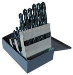 Cleveland CLE-MAX 2001G Jobber Drill - Radial 118° Point - Spiral Flute - Right Hand Cut - High-Speed Steel - C71000