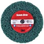 3M Scotch-Brite Roloc Clean & Strip XT Pro Extra Cut Disc - Aluminum Oxide - 4 in Diameter - 1/2 in Thick - Quick Change TR+