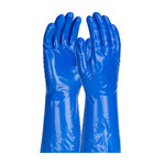 PIP Assurance Blue Large Nitrile Unsupported Chemical-Resistant Gloves - 13 in Length - Smooth Finish - 11 mil Thick - 50-NKH11/L