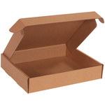 Shipping Supply Kraft Literature Mailers - 11 3/4 in x 10 3/4 in x 2 1/4 in - SHP-11673