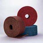 Standard Abrasives Buff and Blend 830271 HS A/O Aluminum Oxide AO Deburring Roll - Medium Grade - 6 in Width x 30 ft Length - 35871