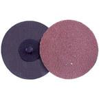 Weiler AL-tra CUT Aluminum Oxide Deburring Disc - Very Coarse Grade - Quick Change Attachment - 2 in Diameter - 59806