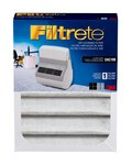 3M Filtrete White Activated Carbon Fiber Air Filter - 7 1/4 in Width - 9 1/2 in 9.5 in Height - 71688