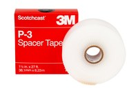 3M Scotchcast P-3 Spacer Tape - 27 ft Length - 1 1/2 in Wide - 25735