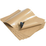 Shipping Supply Kraft 50# Poly Coated Kraft Paper Sheets - 18 in x 24 in - SHP-7957