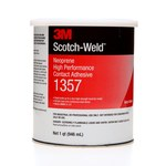 3M Scotch-Weld High Performance 1357 Neoprene Contact Adhesive Gray-Green Liquid 1 qt Can - 19892