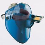 Fibre-Metal Tigerhood Classic 906 Black Thermoplastic Helmet Assembly - 4 1/4 in Viewing Width - 2 in Viewing Height - FIBRE-METAL 906BK
