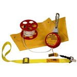 DBI-SALA Rollgliss Rescumatic Orange Rescue Descent Device Kit - 50 ft Length - 840779-07334