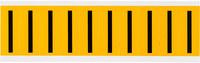Brady 15 Series 1534-I Black on Yellow Vinyl Letter Label - Indoor / Outdoor - 7/8 in Width - 2 1/4 in Height - 1 15/16 in Character Height - B-946