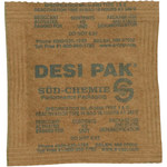 Shipping Supply Clay Desiccant Bags - 5 Gallon Pail - 3 in x 3 in x.25 in - SHP-8372