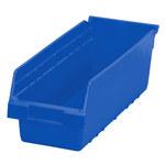 Akro-Mils Shelfmax 505 cu in Blue Shelf Storage Bin - 17 7/8 in Length - 6 5/8 in Width - 6 in Height - 1 Compartments - 30098 BLUE