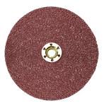 3M Cubitron II 982C Coated Ceramic Brown Quick Change Fibre Disc - Fiber Backing - 36 Grit - Very Coarse - 5 in Diameter - 27404