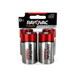 Rayovac Fusion 813 Standard Battery - Single Use Alkaline D - 813-4TFUSK