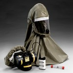 3M Breathe Easy FR-57L10 HEPA PAPR & SAR Assembly - Assembly with Headpiece - Belt-Mounted - 8 hr Li-Ion - 051131-52570