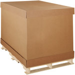 Kraft Double Wall Corrugated Boxes - 58 in x 41 in x 45 in - SHP-2164