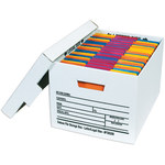"Deluxe File Storage Boxes, 15"" x 12"" x 10"" - 12 EACH PER CASE"