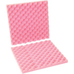 Shipping Supply Pink Anti-Static Foam Sheets - 16 in x 16 in x 2 in - SHP-11968