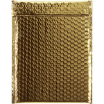Shipping Supply Gold Glamour Bubble Mailers - 11.5 in x 9 in - SHP-3580